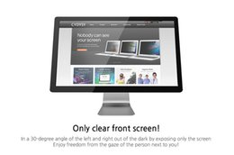 """Wholesale computer screen film - 20 inch Privacy Filter LCD Screen Protector Film for 16:9 Widescreen Computer 17 3 8 """" wide x 9 3 4 """" high (441mm*248mm)"""