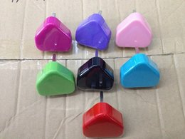 Wholesale Colourful Plug - 200pcs high quality colourful UK Plug USB Power Adapter Wall Charger For iPhone 3G 3GS 4 4S