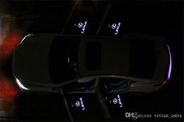 Wholesale Es Led - 2pcs LED Car door Welcome laser projector Logo Ghost Shadow Light For Lexus RX GS 300 400 430 350 450 h HS IS LS LX 570 ES SC