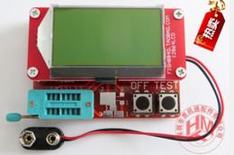 Argentina 12864 LCD Transistor Tester Diodo Tríodo capacitancia ESR medidor MOS / PNP / NPN # caliente # 55661, dandys Suministro