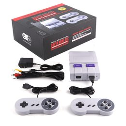 Wholesale Xmas Gifts Wholesale - Super Famicom Mini Classic SFC TV Handheld Game Console Entertainment System Buit-in 400 Classic games SFC Games Console Xmas Gift 3008033