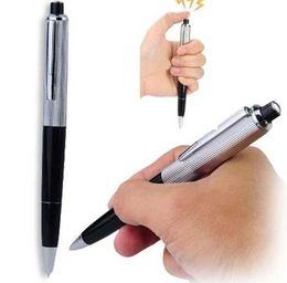Truque de brincadeiras on-line-April Fools Day chique canetas esferográficas Pen Shocking Choque Elétrico Toy Presente Joke Prank Truque divertido brincadeira truque brincadeira frete grátis
