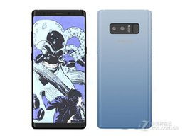Wholesale Black Smartphones - Sealed box NOTE8 smartphones 6.3 inch MTK6580 Quad Core 1G 4G can show 64G fake 4G LTE Android 6.0 Lollipop Smart Cell phone