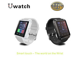 Wholesale Luxury Watches For Kids - U8 Smartwatch Bluetooth Altimeter Anti-lost Wrist Watches For iPhone Android Samsung HTC Sony Nokia Wearable Luxury Smart Watches DZ09