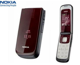 Wholesale unlocked cell phone arabic english - Unlocked Original Nokia 2720 Refurbished Cell phone 1.3 MP 2G Network GSM 900   1800 Arabic Russian English keypad