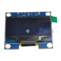 "Wholesale Lcd Oled - Wholesale-1PCS white color 128X64 1.3 inch OLED LCD LED Display Module For Arduino 1.3"" IIC SPI Communicate"