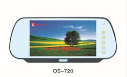 televisores do painel do carro Desconto Novo universal 7 '' Monitor Espelho Retrovisor Do Carro com USB / SD (MP5) / bluetooth / Transmissor FM