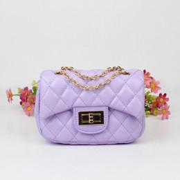 Wholesale Checkered Purse - 7 Colors Fashion 2016 New Children's PU Leather Bags Girl's Mini Purses Kids Bag Kids Small Designer Shoulder Bags Girl Mini Bag