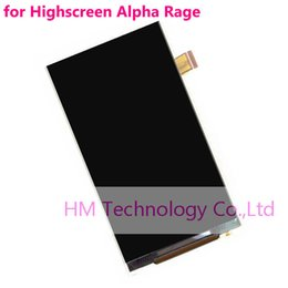 "Wholesale Hk Panels - Wholesale-4.5"",1pc Only LCD for Highscreen Alpha Rage ,LCD Display (NoTouch Screen Digitizer Touch Panel) Replacement Free HK"
