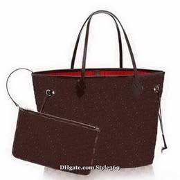 Retro bags style for women on-line-Novo Estilo de Alta Qualidade Mulheres Sacos de Ombro Grande Tote Bolsa de Compras Tote Satchel Retro Bolsa Sacos Cosméticos 4 Cores 2 Tamanho Pick