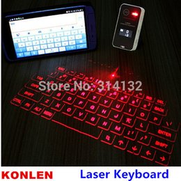 Wholesale Mini Laptop Computer Windows - Wholesale-2015 Hi-tech portable mini lcd virtual laser ios android keyboard for computer smartphone XP vista window etc.