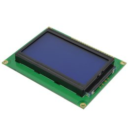 Wholesale Display 12864 - 2014 1PCS 12864 5V Graphic LCD Display screen Module LCM Blue Backlight ST7920 Free shipping