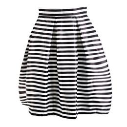 Wholesale Sexy Ladies Stripping - Women Lady Fashion Slim Fit Strip Fashion Casual Chic Sexy Slim Fit Sweet A-Line High Waist Mini Skirt