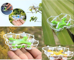 para helicóptero 3d Rebajas 3D Flip Mini Flash 2.4G Remote Control Aircraft Aerial Helicopter Kid Toy