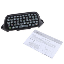 Wholesale Keyboard Microsoft - Wireless Text Messenger Game Keyboard Controller CHATPAD for Microsoft XBOX 360