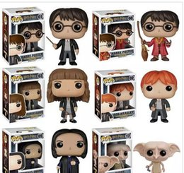 Wholesale Harry Potter Action Figures Wholesale - 2017 Hot Sell Funko POP Movies Harry Potter Severus Snape Vinyl Action Figure with Original Box Good Quality dobby Doll ornaments toys great