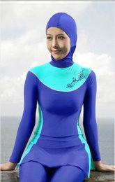 Wholesale Muslims Swimwear - 2017 New plus 18 size fashion new women's muslim swimwear,islamic swimsuit, Muslim swimsuit,Arabic siwmwear