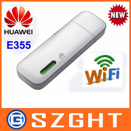 2019 ha sbloccato il modem usb huawei All'ingrosso-sbloccato Huawei E355 21Mbps HSPA + modem USB + hotspot mobile PK huawei E8231 sconti ha sbloccato il modem usb huawei