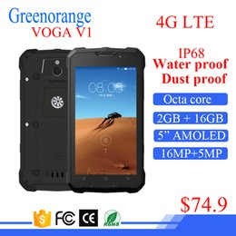 Wholesale Digital Water Screen - Dual Sim Shockproof Dustproof Cell Mobile Android smart Rugged 4G LTE Cellphone Water Proof IP68 Smartphone Waterproof Phone