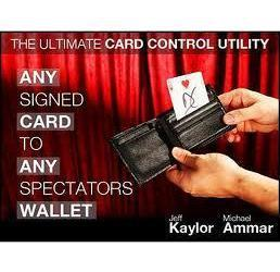 Wholesale Any Signed Card to Any Spectators Wallet by Michael Ammar Jeff Kaylor teaching Video send via email Close up magic