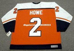 Wholesale Retro Philadelphia - wholesale custom Throwback Mens MARK HOWE Philadelphia Flyers 1987 CCM Throwback Away Cheap Retro Hockey Jersey