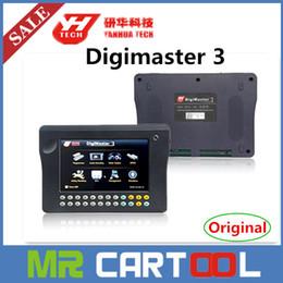 Wholesale Digimaster Unlimited - 2015 Newly Version Genuine Original YANHUA Digimaster 3 Digimaster III Odometer Correction Master Unlimited token Full Version DHL shipping