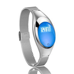 Z18 android online-Z18 Pulsera Inteligente Soporte de Frecuencia Cardíaca Monitorización de Oxígeno de Presión Arterial Banda de Damas para Android IOS Reloj Inteligente Pulsera