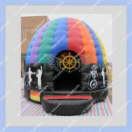Venda quente Atraente Inflável Bouncer Inflável Disco Dome Bounce House para Seus Eventos DHL Frete Grátis de