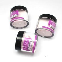 Wholesale Ezflow Clear - Wholesale-Pro ezflow acrylic powder Clear+pink+white acrylic powder nail kit set nail tools acrylic nail 28g decorate nail 6PCS