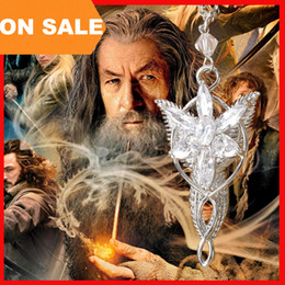 Wholesale Twilight Wholesale - movie necklace Lord of the Rings necklace Wizard Princess crystal Twilight Star Pendants necklaces statement 160512