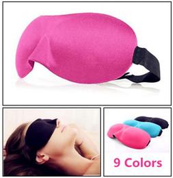 Hochwertige augenflecken online-Hohe Qualität Reise Schlaf Rest 3D Schwamm Augen Schatten Schlaf Augenmasken Abdeckung Nap Rest Patch Blinder für gesundheitswesen