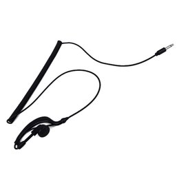 Wholesale Two Way Radios For Sale - New Hot Sale Earpiece Headset Only Listen 3.5MM Jack Single Earphone TC-617 For walkie talkie Two Way Radios