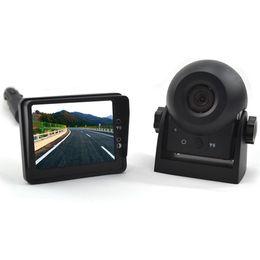 2019 câmera reversa bmw Digital Sem Fio Magnético Bateria Operada Portátil Retrovisor Do Carro Engate Camera Kit Para Caravana / Trailer Frete Grátis