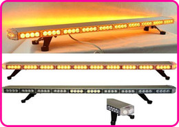 Wholesale Light For Fire Truck - High Intensity 120cm DC12V 86W Led emergency Lightbar,warning light bar for police ambulance fire truck vehicle,waterproof