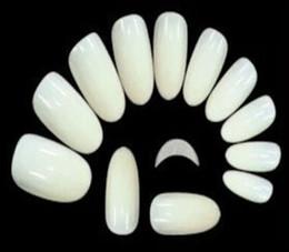 Deutschland Wholesale-MN-New Ankunfts-Salon DIY natürliche Acrylnagelspitzen, falsche Stilettnägel der vollen Abdeckung, 500 PC-gefälschter Nagel, freies Verschiffen Versorgung