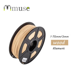 Wholesale 3d Printer Filament 3mm - Chinese Manufacturer High Quality 1kg roll Wood 3D Printer Filament with 1.75mm 3mm Diameter For Selling