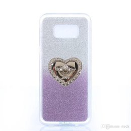 Wholesale Phone Cover Galaxy S4 - Soft TPU Sparkle Glitter Case For Samsung Galaxy S8 Case Phone Back Cover For Samsung S8 Plus S7 Edge S6 Edge Plus S5 S4 Mini S3