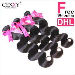 Wholesale Extentions Human - hair extentions Virgin Brazilian Hair Weave 4 Bundles Brazilian Body Wave Human Hair Bundles 7A Grade Brazilian Virgin Hair Body Wave 100g