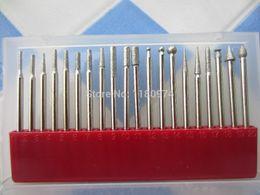 Wholesale Dental Diamonds Burs - Wholesale-free shipping!!! 20pcs set,diamond burs set, jewelry diamond drill bits, Dental Burs, jewelry burs, diamond drill bit for dremel