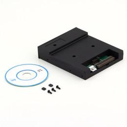 "Wholesale Usb Floppy - Black 5V 3.5"" 1.44MB floppy disk drive emulator to USB Flash Drive Simple plug"