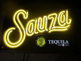 "Wholesale Tequila Bar Signs - Sauza Tequila Neon beer bar pub Light Sign Drink Smart Man Cave Club Lounge beer 24""X16"""