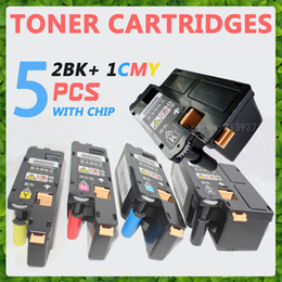 Wholesale Toner Cartridge For Brother - 5x New Toner Cartridge For Xerox phaser 6000 6010 Workcentre 6015 6015V 2BK+CMY, Free Shipping