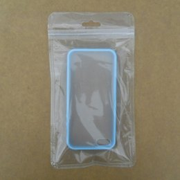 Wholesale Cell Phone Hangings - Retail Packaging Bag Cell Phone iPhone Case Plastic Clear Packing Bags Zipper Zip Lock Hang Hole Package Pouches for Electronic Accessories