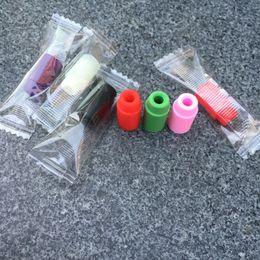 Wholesale Ce4 Transparent - Plastic Drip Tips transparent 8 Colorful Electronic Cigarette Mouthpiece Plastic Drip Tips for 510 ego ce4 subox nano subox mini kit smok