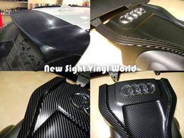 Wholesale 4d Carbon Fiber Vinyl Wrap - Black 4D Carbon Fiber Vinyl 4D Carbon Fiber Wrap For Car Wrap bubble Free Size: 1.52*30m Roll
