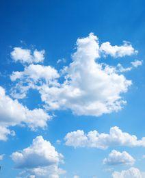 Wholesale Photography Muslin Backdrops - 5x7ft Sky and Cloud theme Vinyl Photography Backdrops Props Photo Studio Background TKS-60