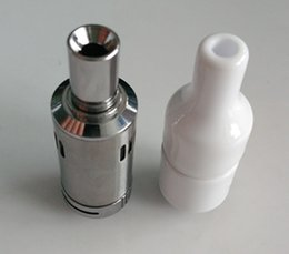 Virutas secas online-Bobina de cerámica donut Cera Atomizador Vaporizador Ceramic chip Coils 0.5ohm-0.7 ohm Cera Dry Herb Coil Glass Wax Atomizers 510 DHL