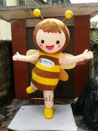 Wholesale Fancy Dress Bee - The bee doll mascots mascot costume high quality fancy dress adult size party Halloween,christmas party clothing