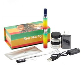 Wholesale Metal Plastic Pen - Bob marley vaporizer kit with herbal tank Atomizer dry herbal vaporizer vape pens wax vaporizer 3 in 1 Snoop Dogg vaporizer