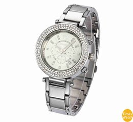 Wholesale Geneva Hours - luxury watch Female Geneva Diamond Watches Women Dress Watches Rose Gold Roman Dial Quartz Christmas gift Hours standard quality Classic